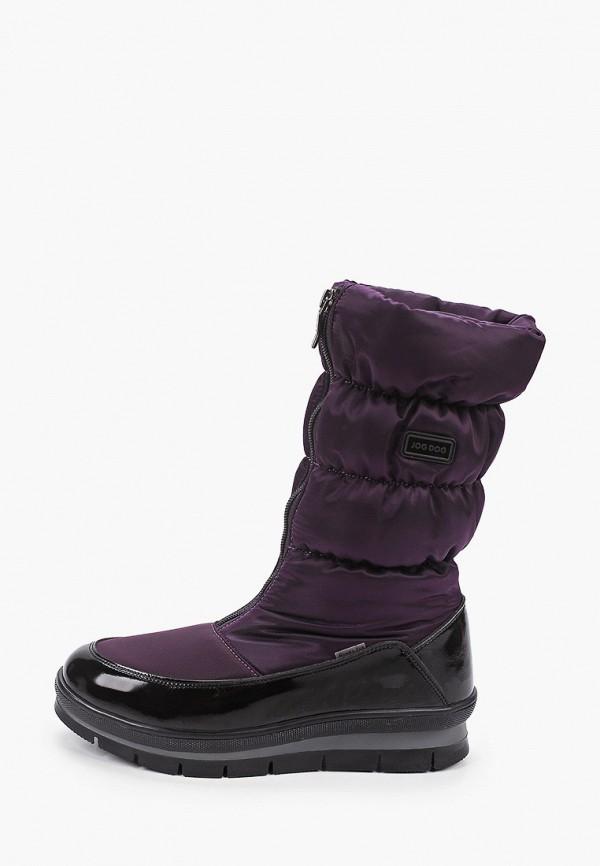 дутики jog dog для девочки, фиолетовые