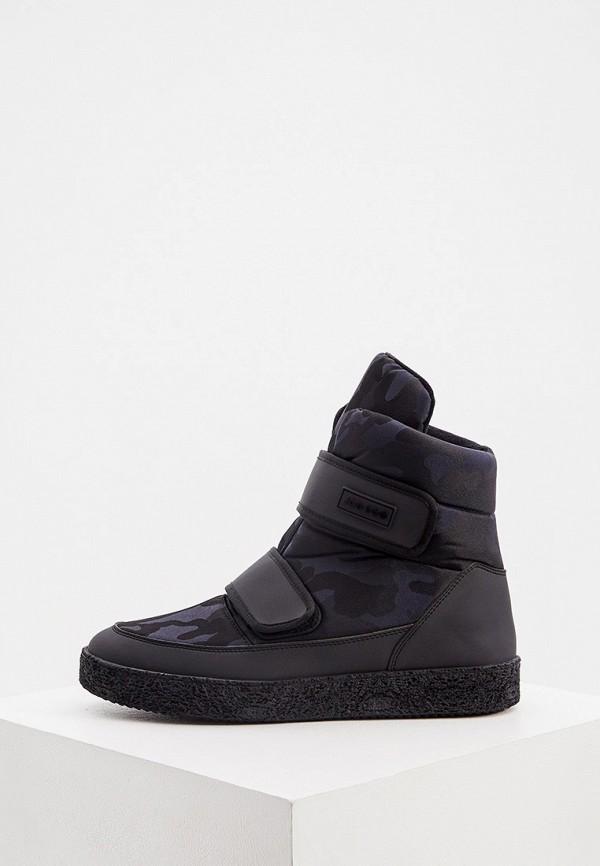 мужские ботинки jog dog, черные