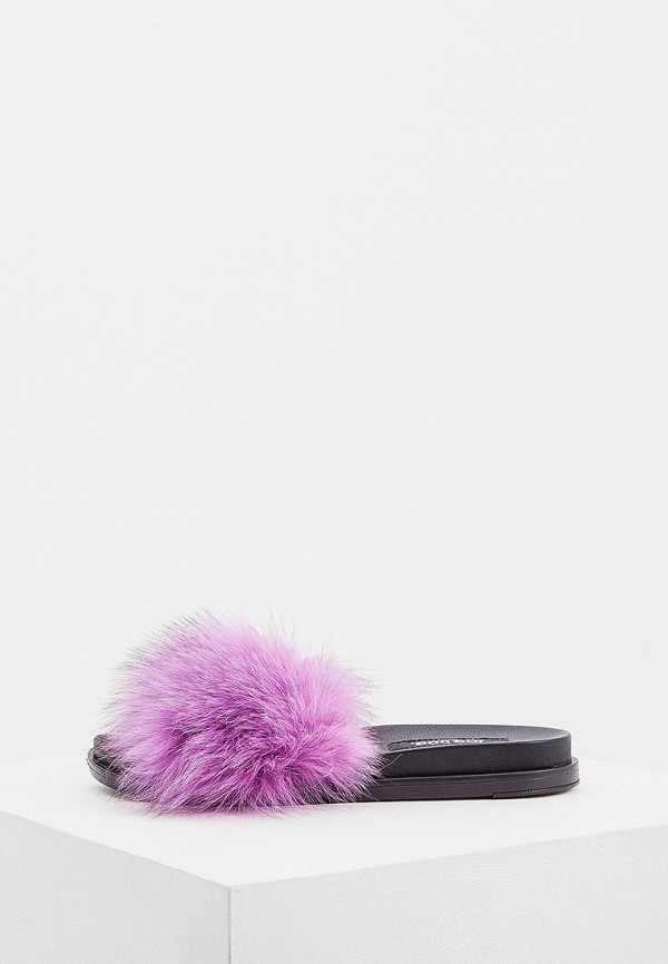 женское сабо jog dog, фиолетовое