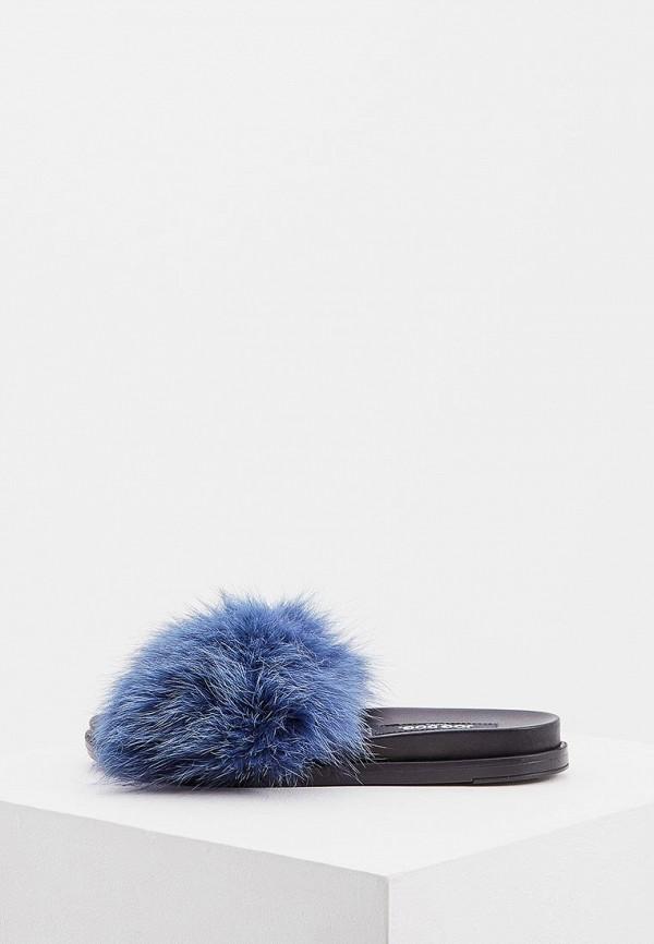 женское сабо jog dog, синее