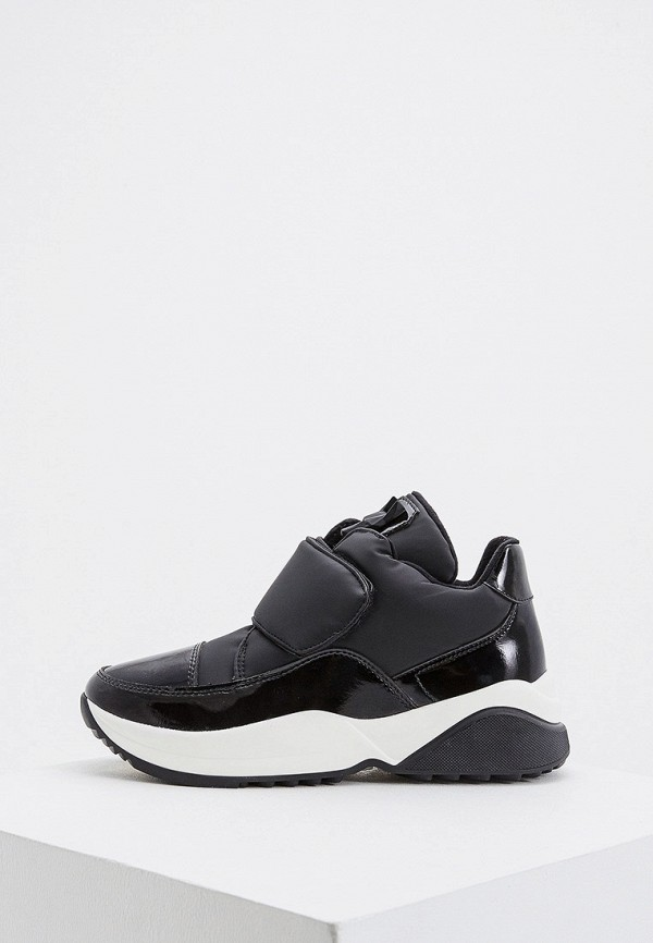 женские низкие кроссовки jog dog, черные