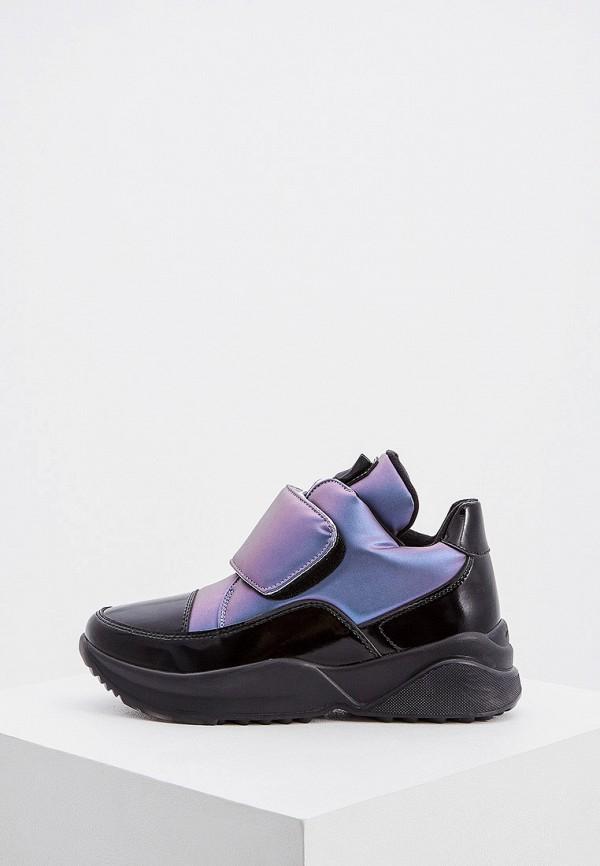 женские низкие ботинки jog dog, фиолетовые