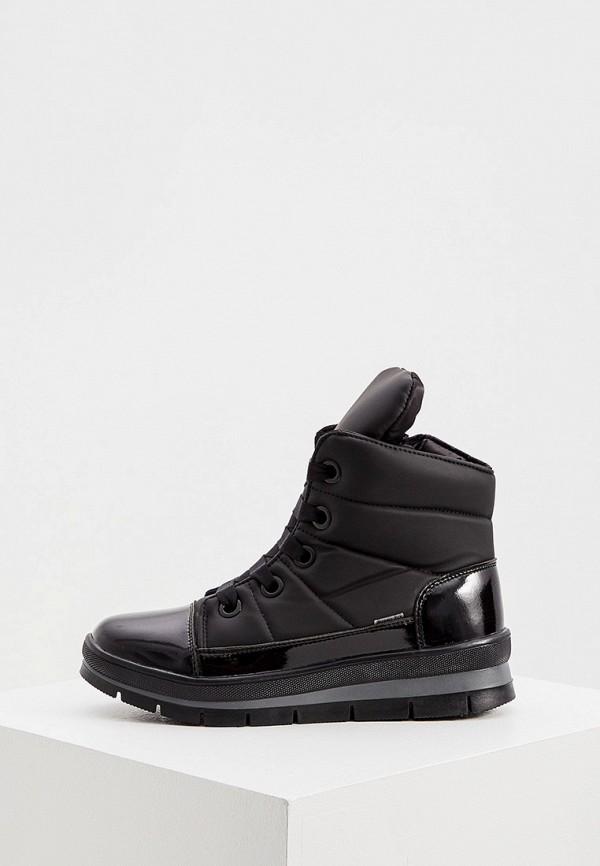 женские высокие ботинки jog dog, черные