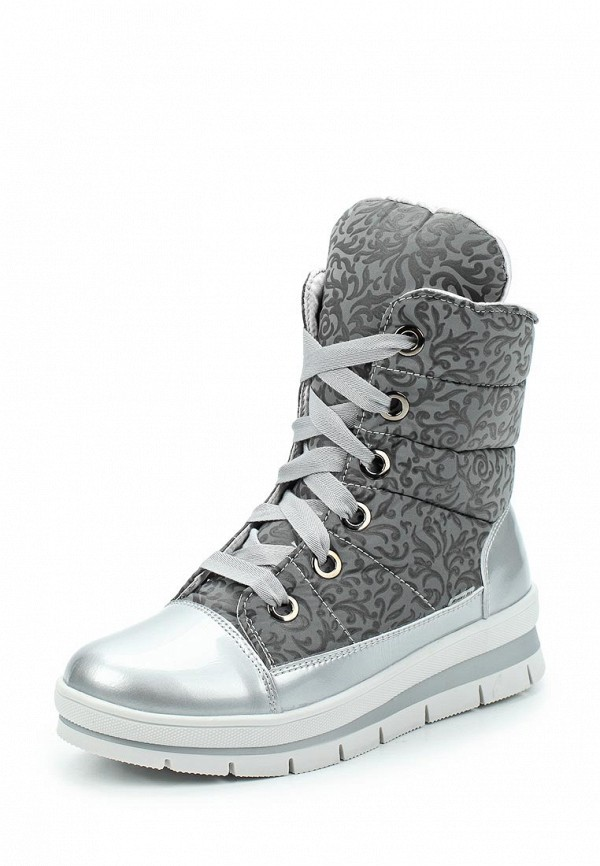 Фото - женские ботинки и полуботинки Jog Dog серого цвета