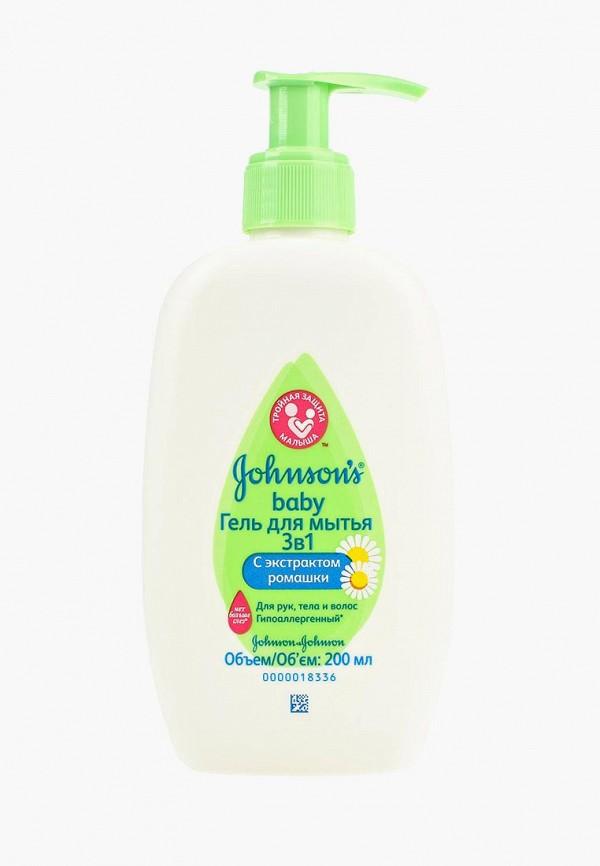 Купить Гель для купания Johnson & Johnson, Johnson's baby детский для мытья 3 в 1, 200 мл, jo023lknwb69, Весна-лето 2019