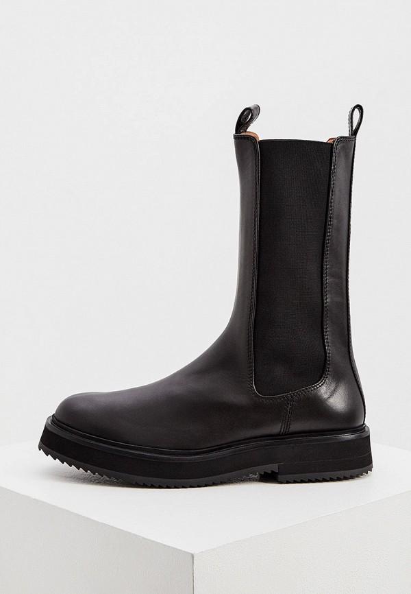 женские ботинки joseph, черные