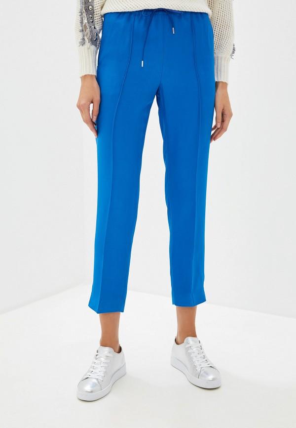 женские брюки joseph, синие