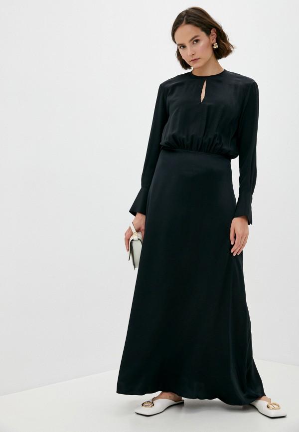 женское вечерние платье joseph, черное