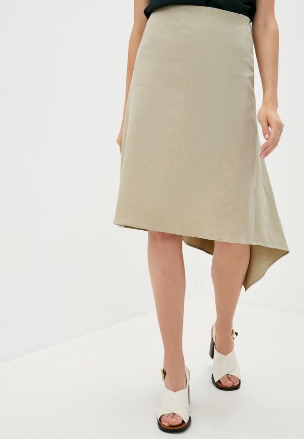 женская юбка joseph, бежевая