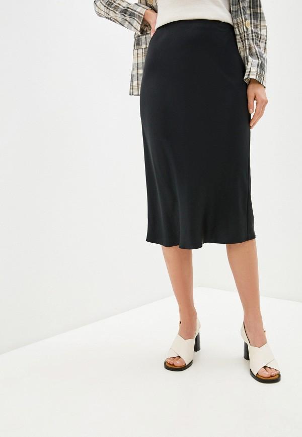 женская прямые юбка joseph, черная