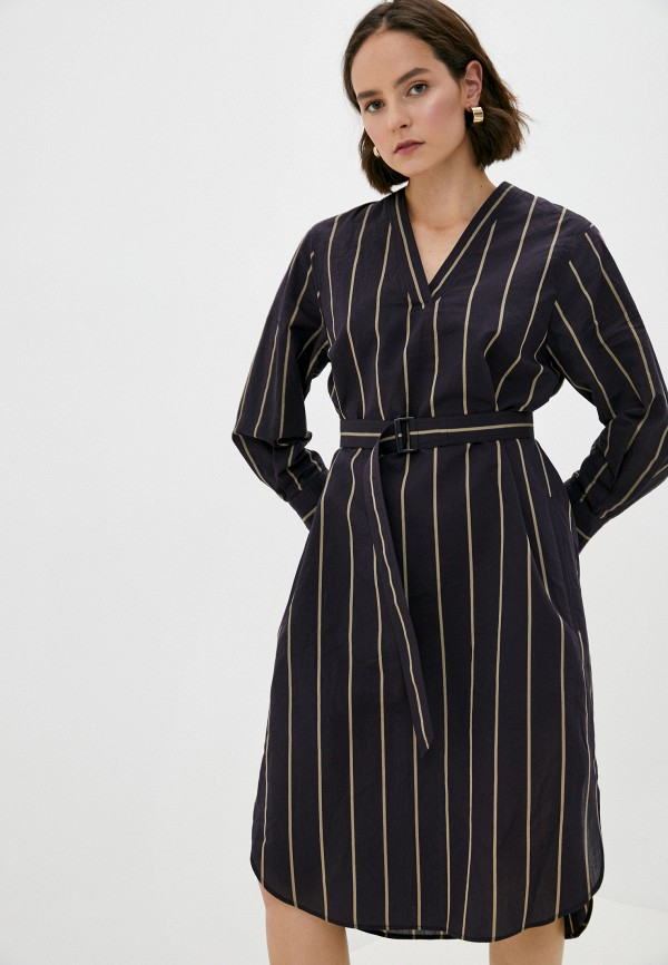 женское повседневные платье joseph, коричневое