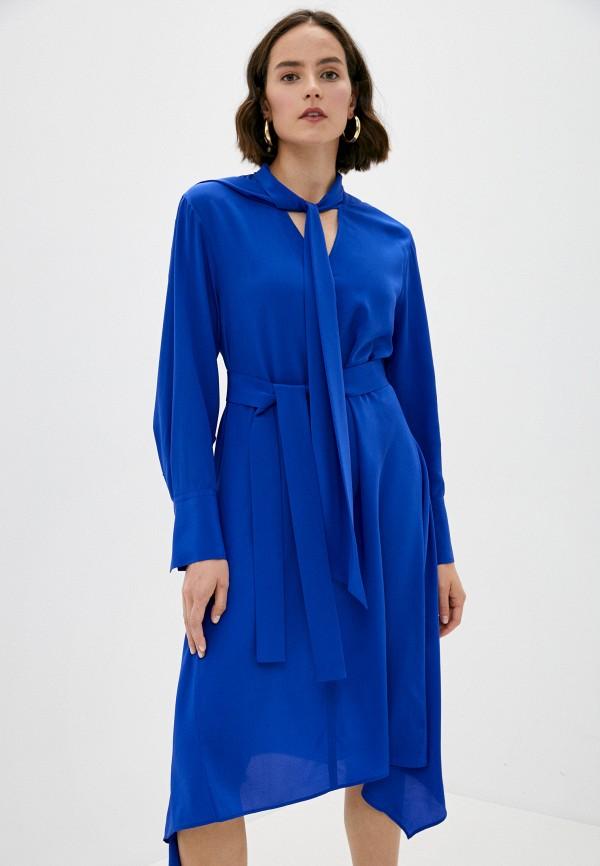 женское повседневные платье joseph, синее