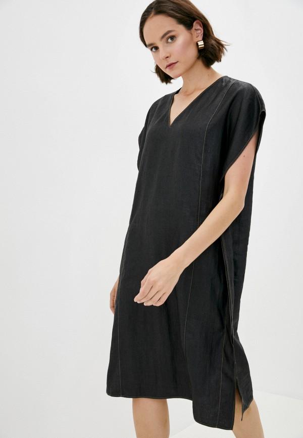 женское повседневные платье joseph, черное