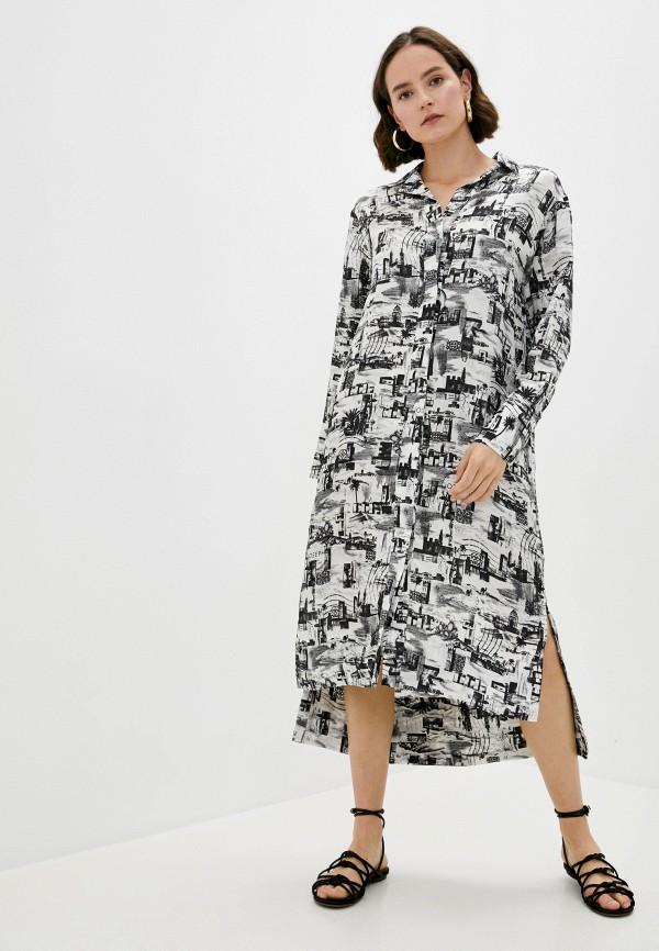 женское платье joseph, разноцветное
