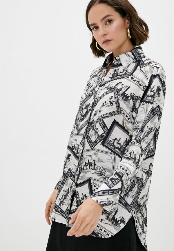 женская блузка joseph, разноцветная