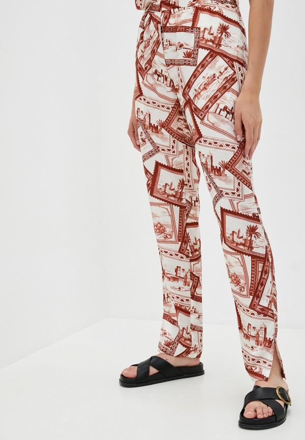 женские повседневные брюки joseph, красные