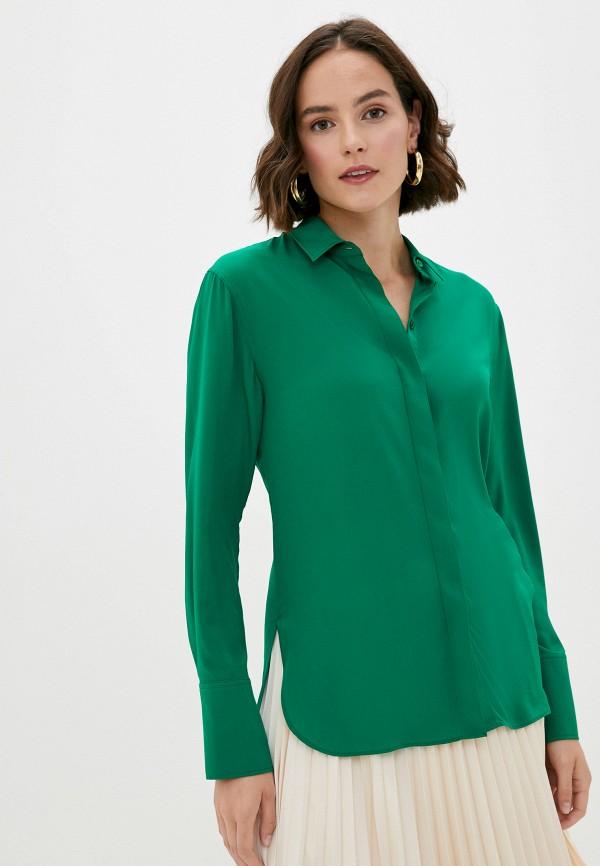 женская блузка joseph, зеленая