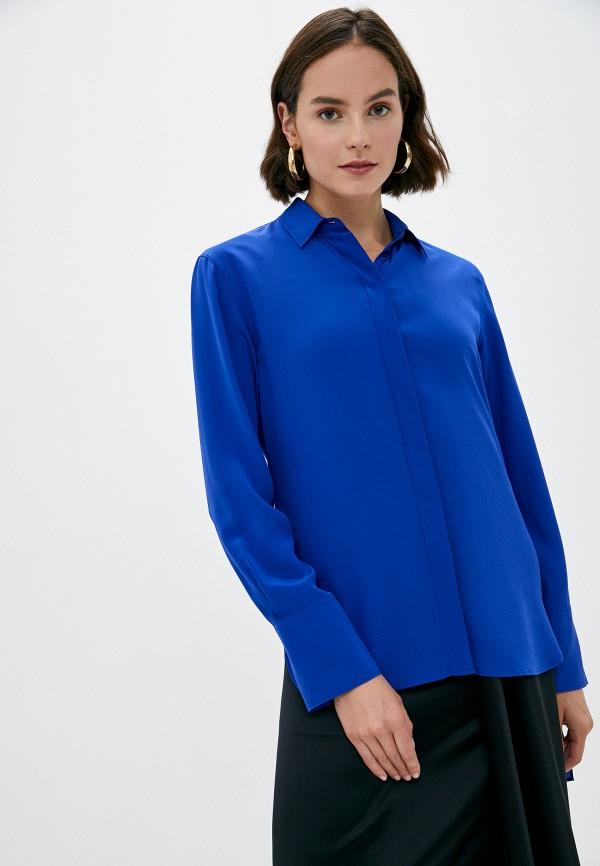 женская блузка joseph, синяя