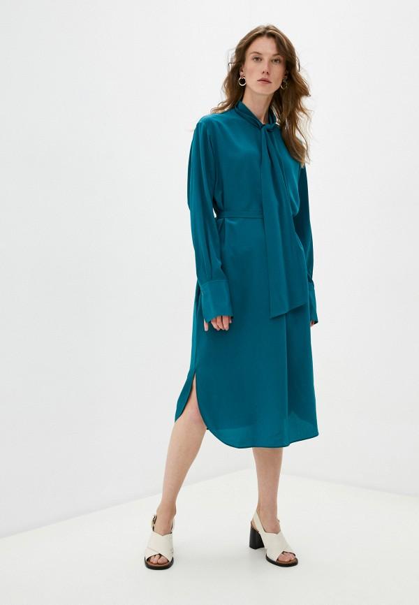 женское повседневные платье joseph, зеленое