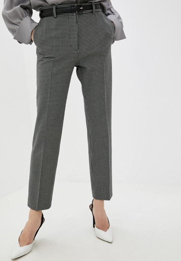 женские классические брюки joseph, серые