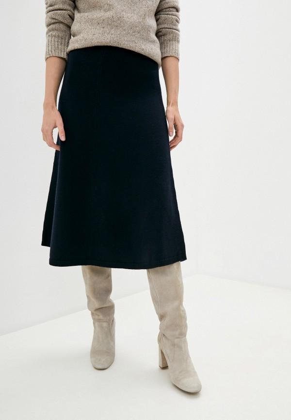 женская юбка joseph, синяя