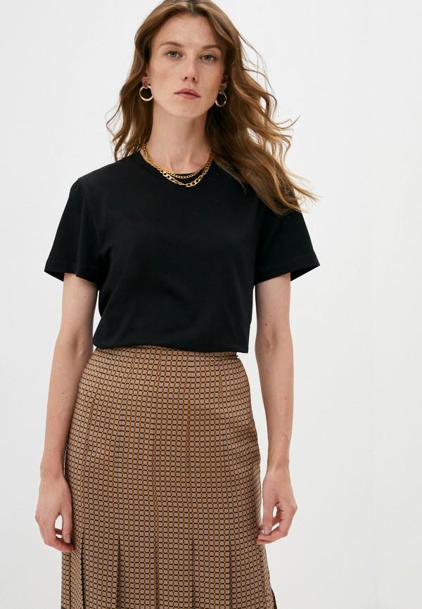женская футболка joseph, черная