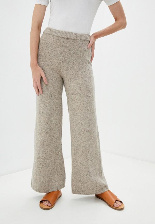 женские повседневные брюки joseph, бежевые