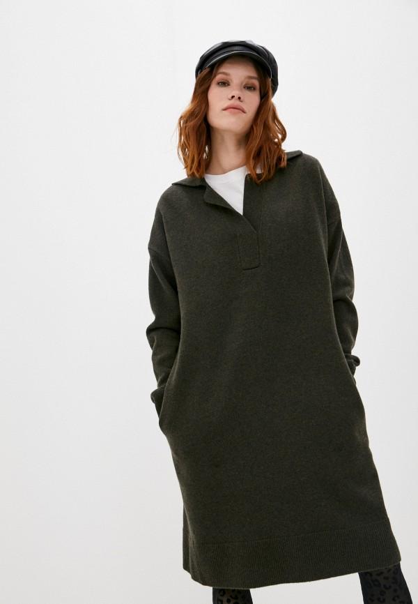 женское платье joseph, хаки