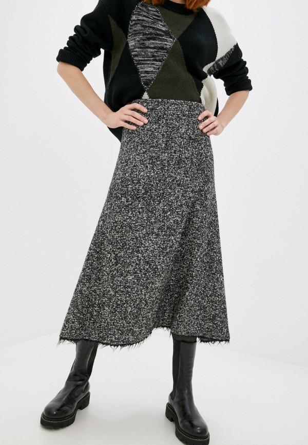 женская юбка joseph, серая