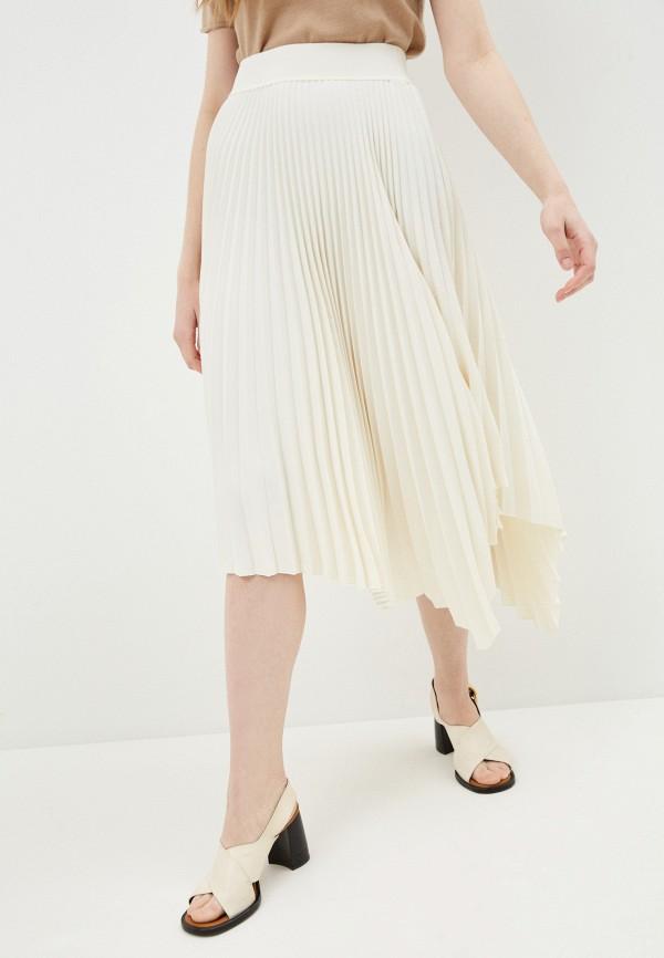 женская юбка joseph, белая
