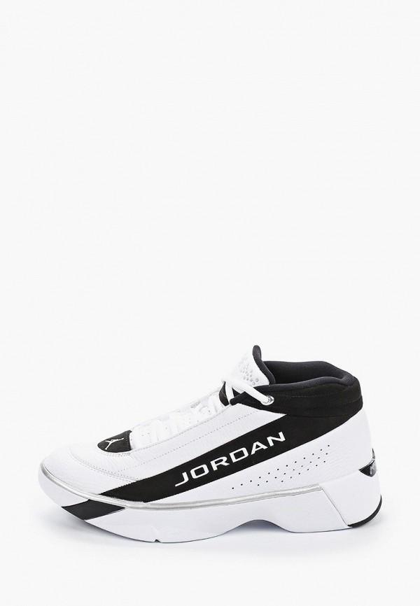 мужские низкие кроссовки jordan, белые