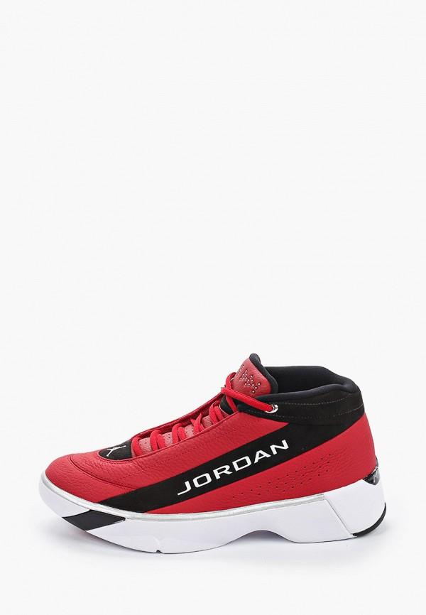 мужские низкие кроссовки jordan, красные