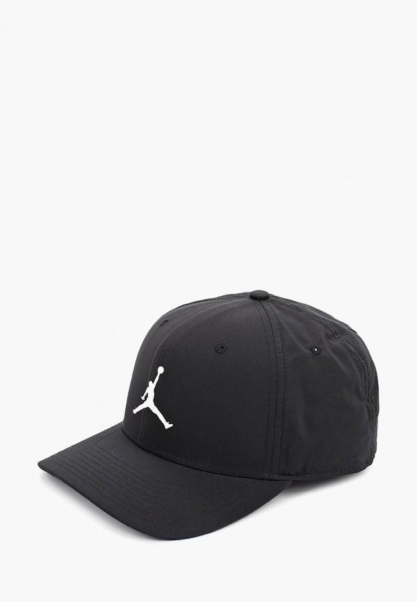 Фото - Бейсболка Jordan черного цвета