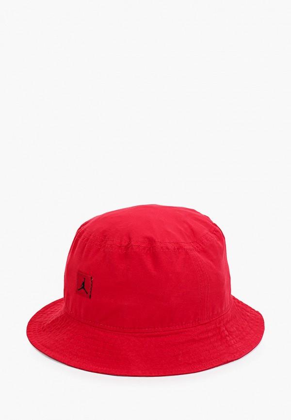 женская панама jordan, красная