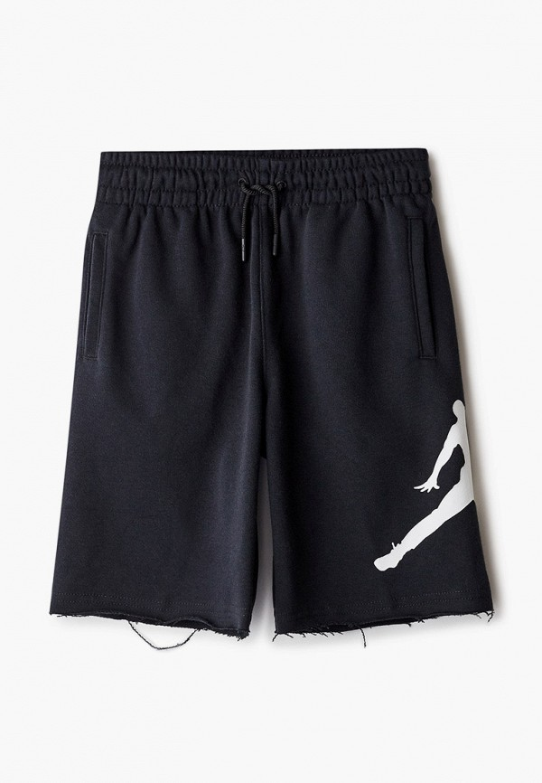 Шорты спортивные Jordan черного цвета