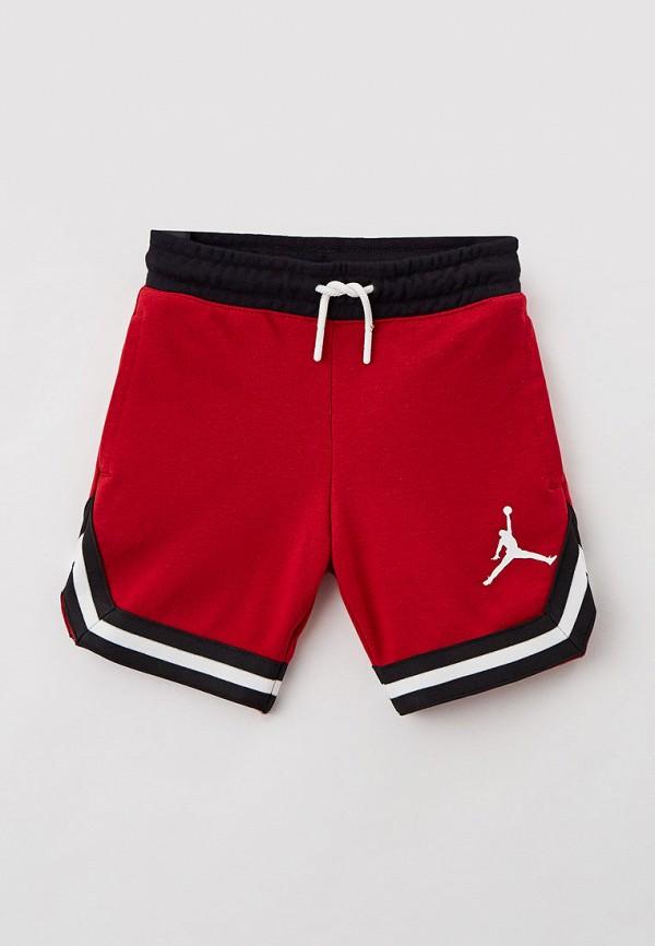 Шорты Jordan красного цвета
