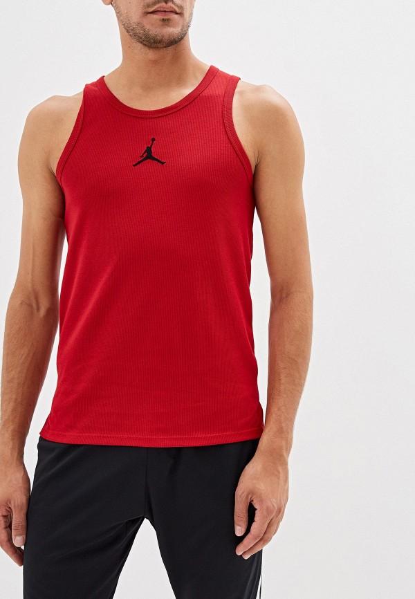Фото - Майку спортивная Jordan красного цвета