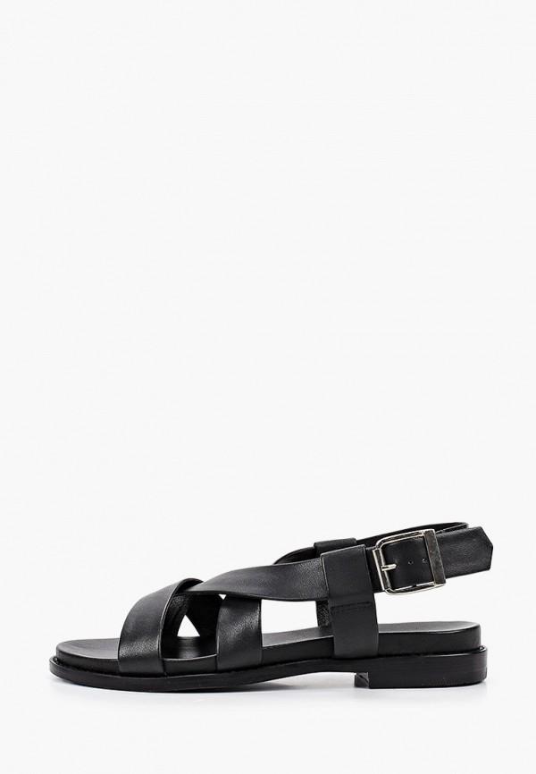 женские сандалии jonak, черные