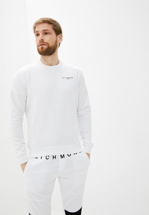 мужской свитшот john richmond sport, белый
