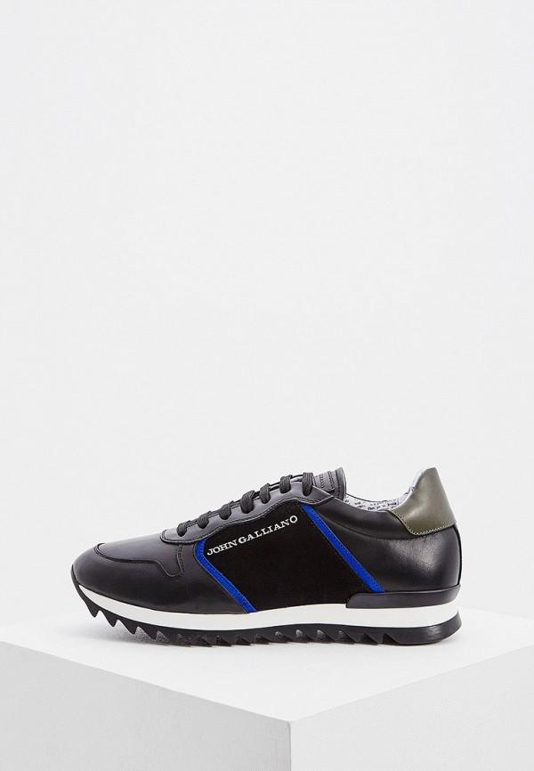 мужские кроссовки john galliano, черные