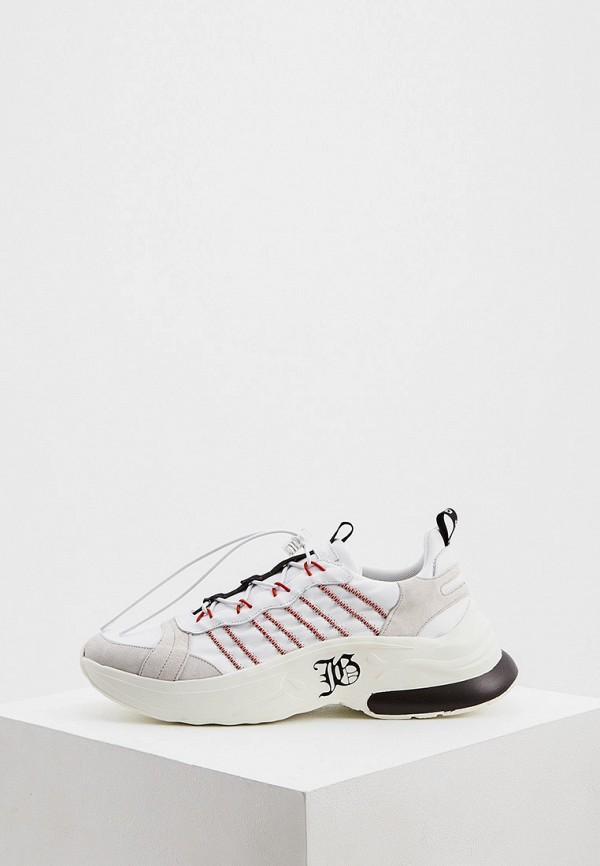 мужские кроссовки john galliano, белые
