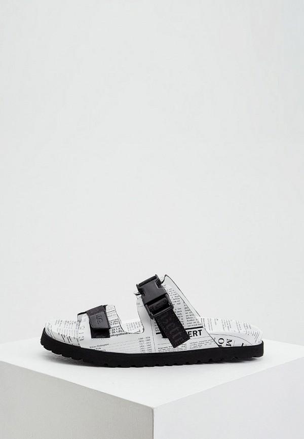 мужские сандалии john galliano, белые
