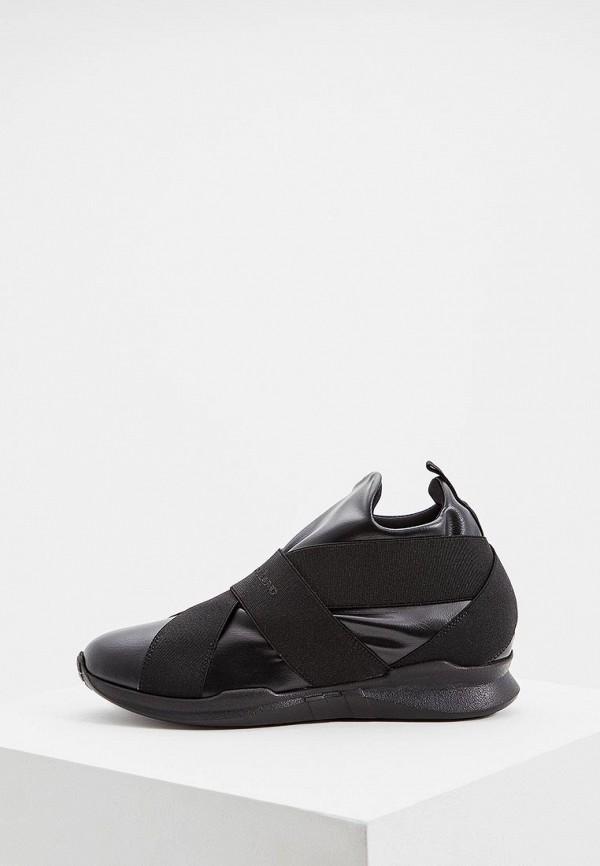 женские кроссовки john galliano, черные