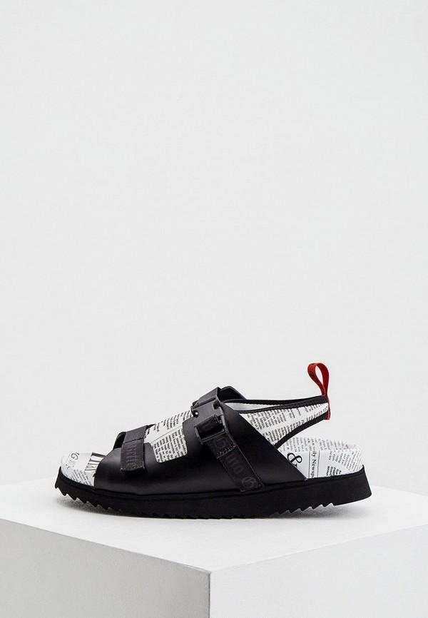 женские сандалии john galliano, черные