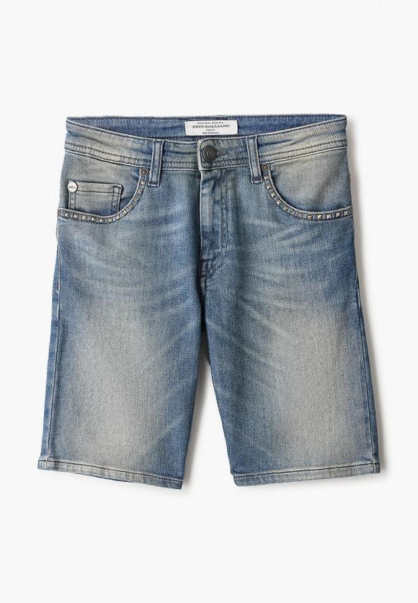 джинсовые шорты john galliano для мальчика, голубые