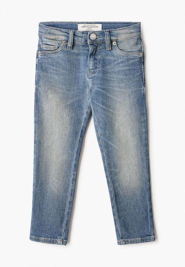 джинсы john galliano для девочки, голубые