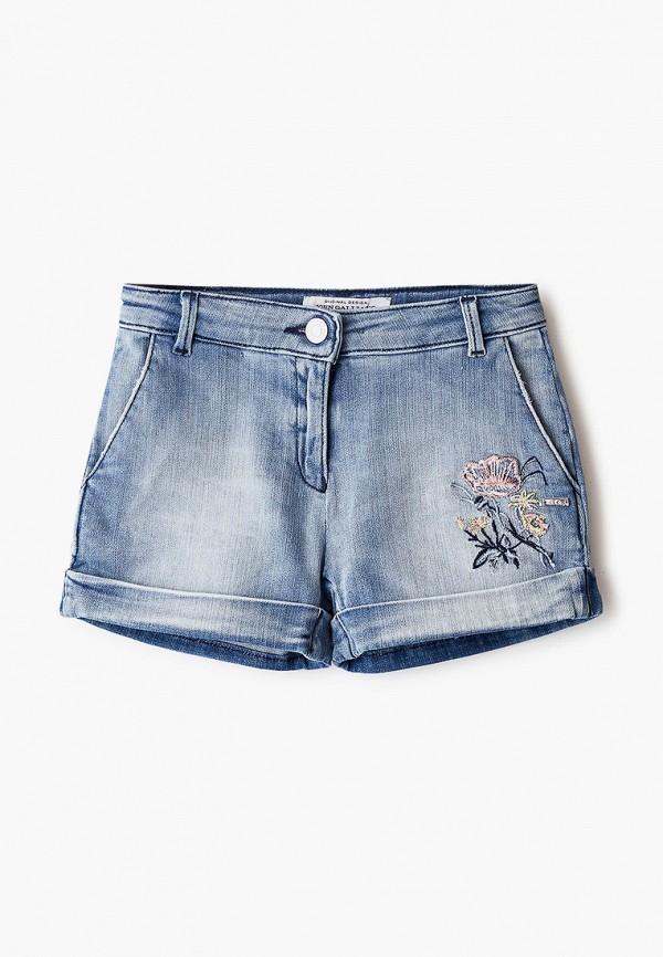 джинсовые шорты john galliano для девочки, голубые