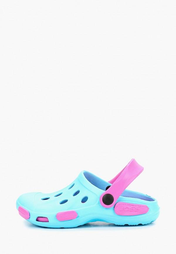 сандалии joss для девочки, голубые