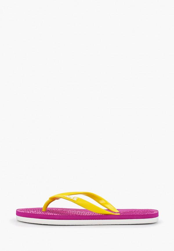 женские сланцы joss, розовые