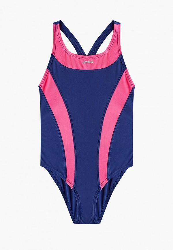 купальник joss для девочки, синий